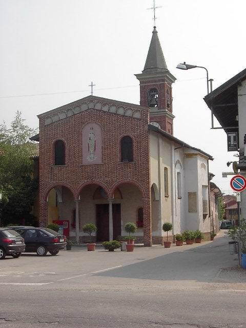 chiesa parrocchiale è dedicata a S.Eusebio e S.S.Martiri Maccabei